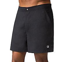 fundamental santoro short in black