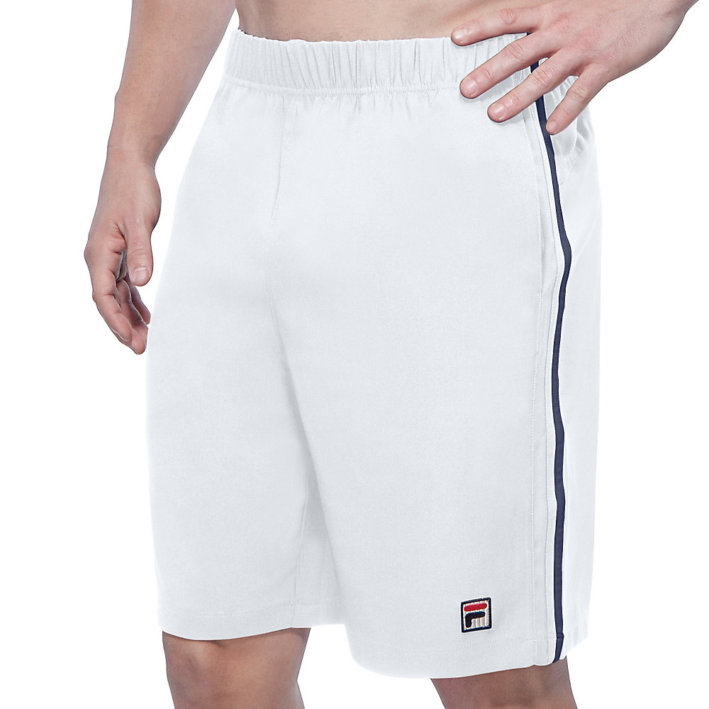 heritage short in white