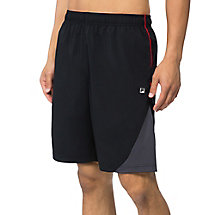 adrenaline short in black