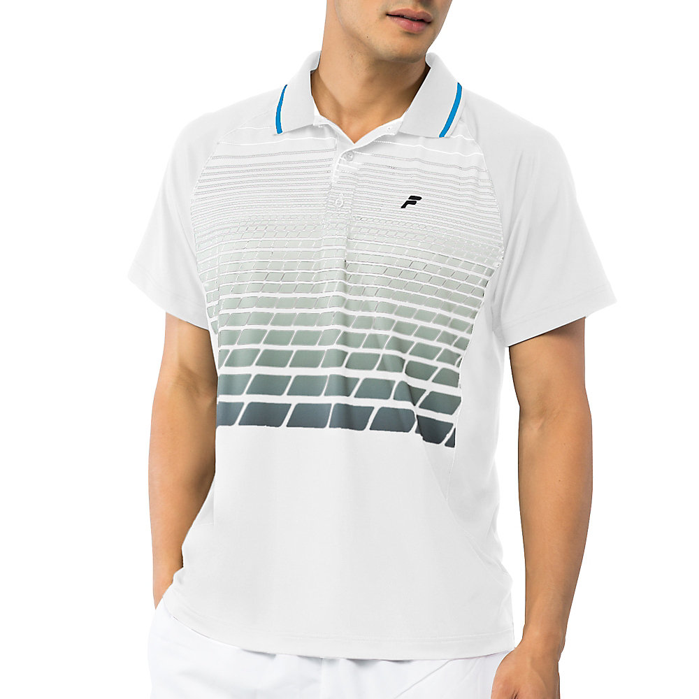 platinum polo in white