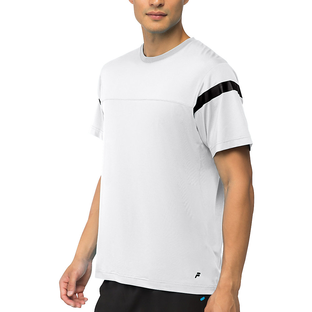 men's platinum colorblock crew in NotAvailable