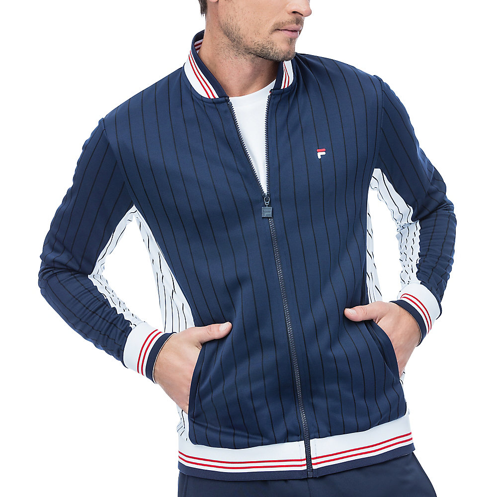 heritage jacket in navy