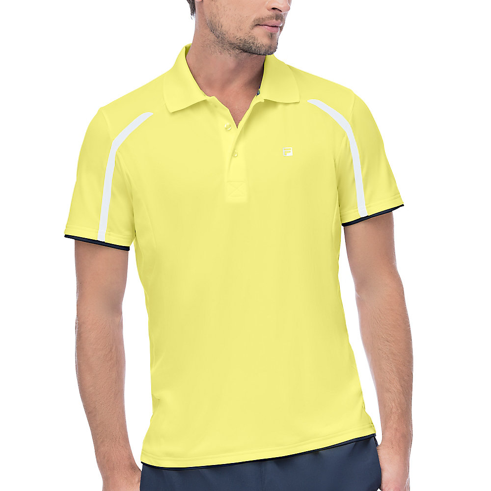 hurricane polo in yellow