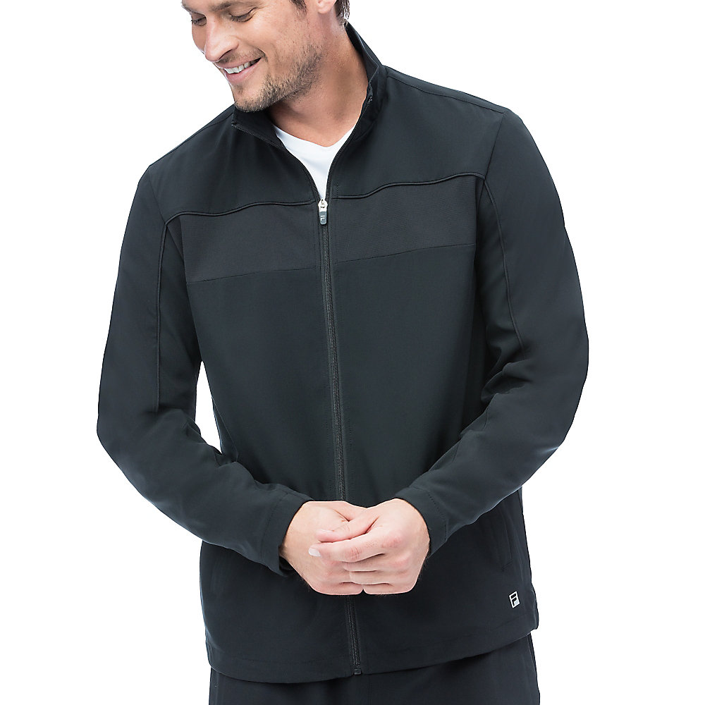 fundamental jacket in black