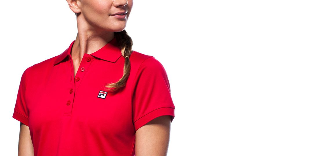 approach pique polo shirt detail image