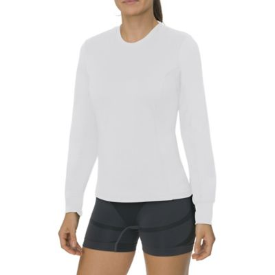 W CLASSIC LONG SLV CREW NECK