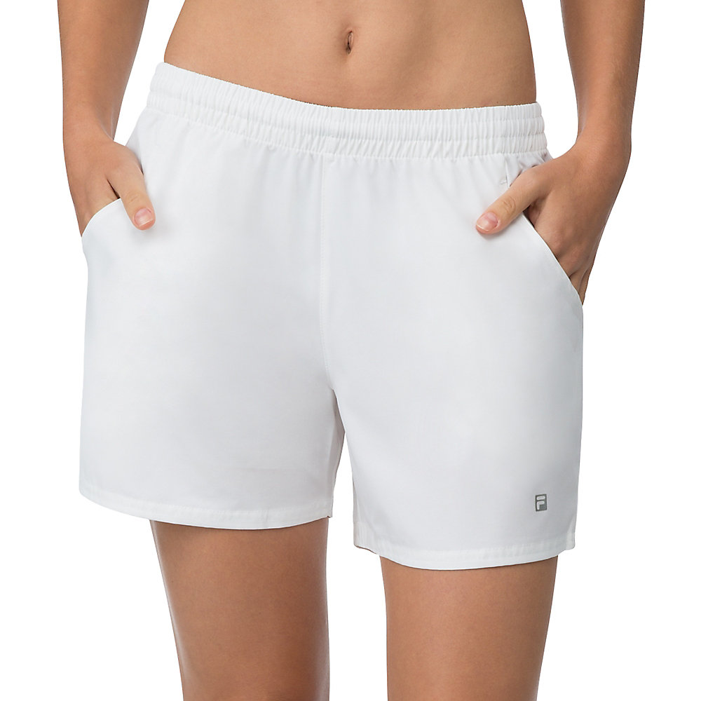 essential short in white