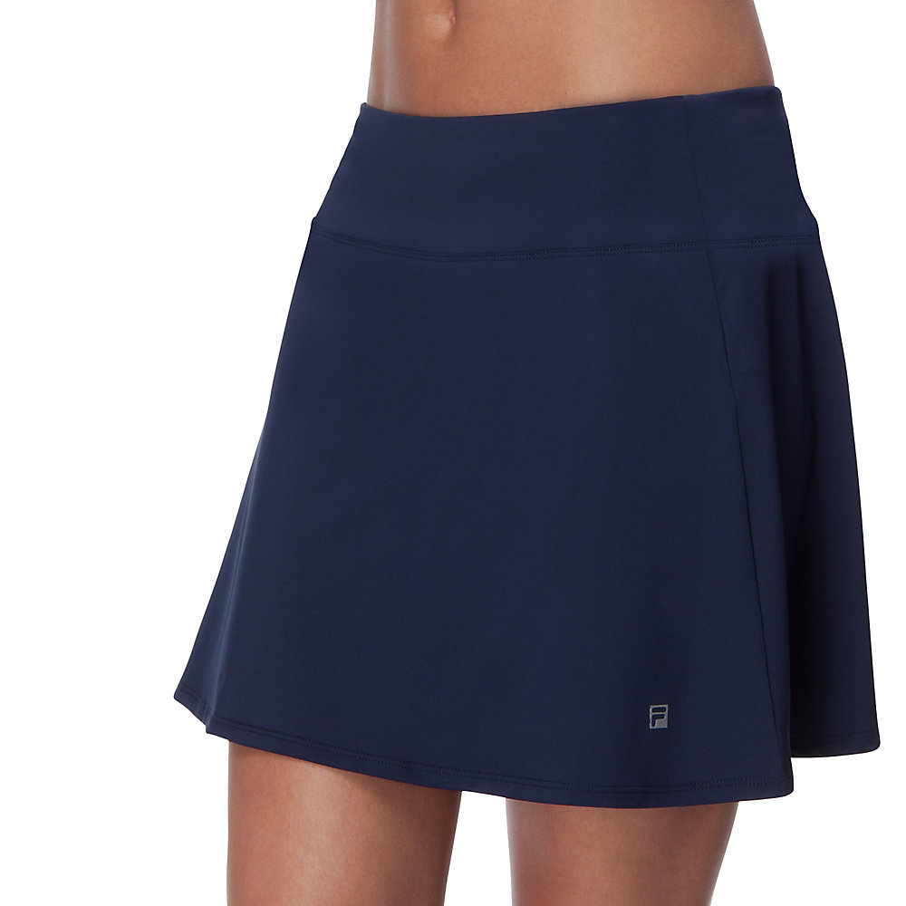 long flirty skort in filanavy