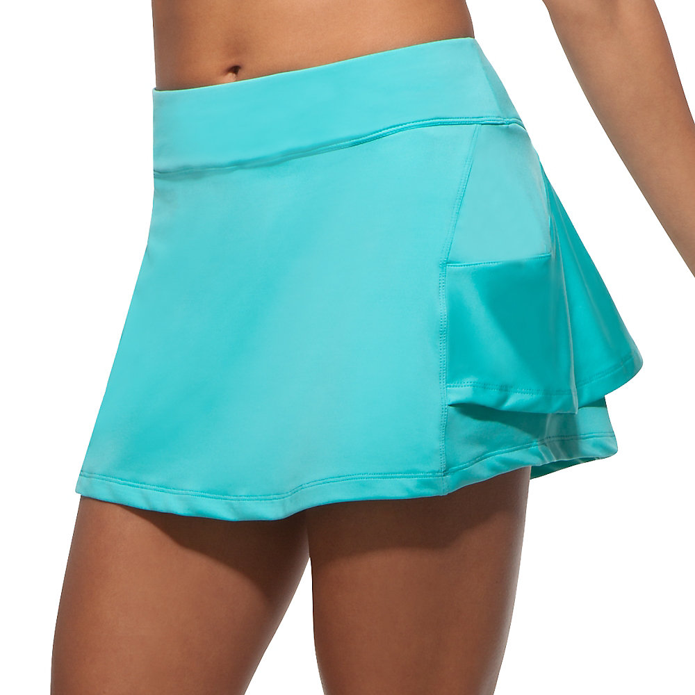 platinum ruffle skort in blueradiance