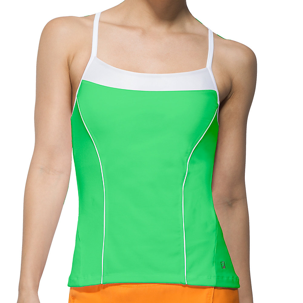 citrus bright cami tank in brightgreen