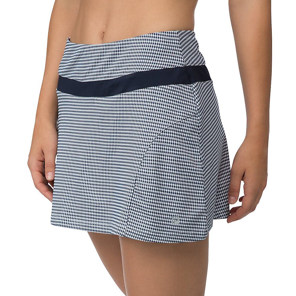 gingham skort in TW161MV1_411_sw_e