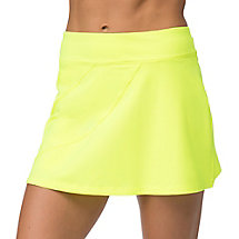 platinum long skort in tennis