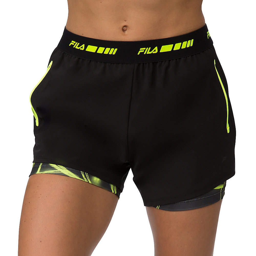 platinum double layer short in black