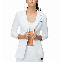 mb blazer in white