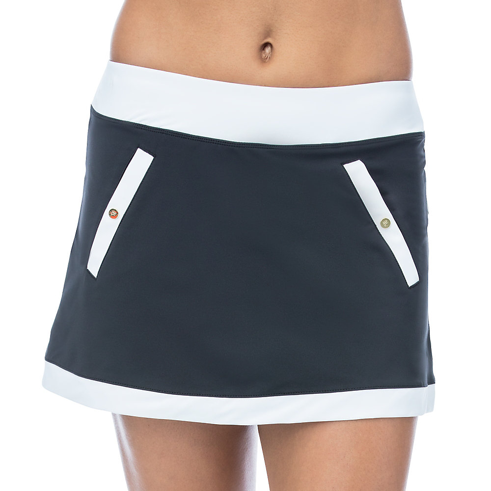 court couture skort in black