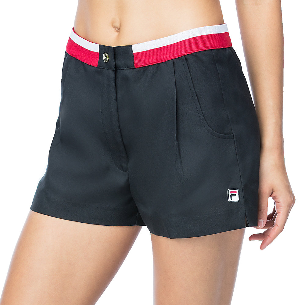 heritage short in black