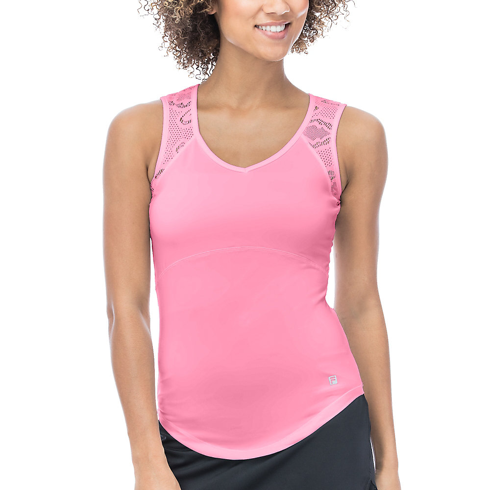 ace full back sleeveless tank in pink