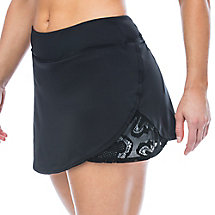 ace active skort in black