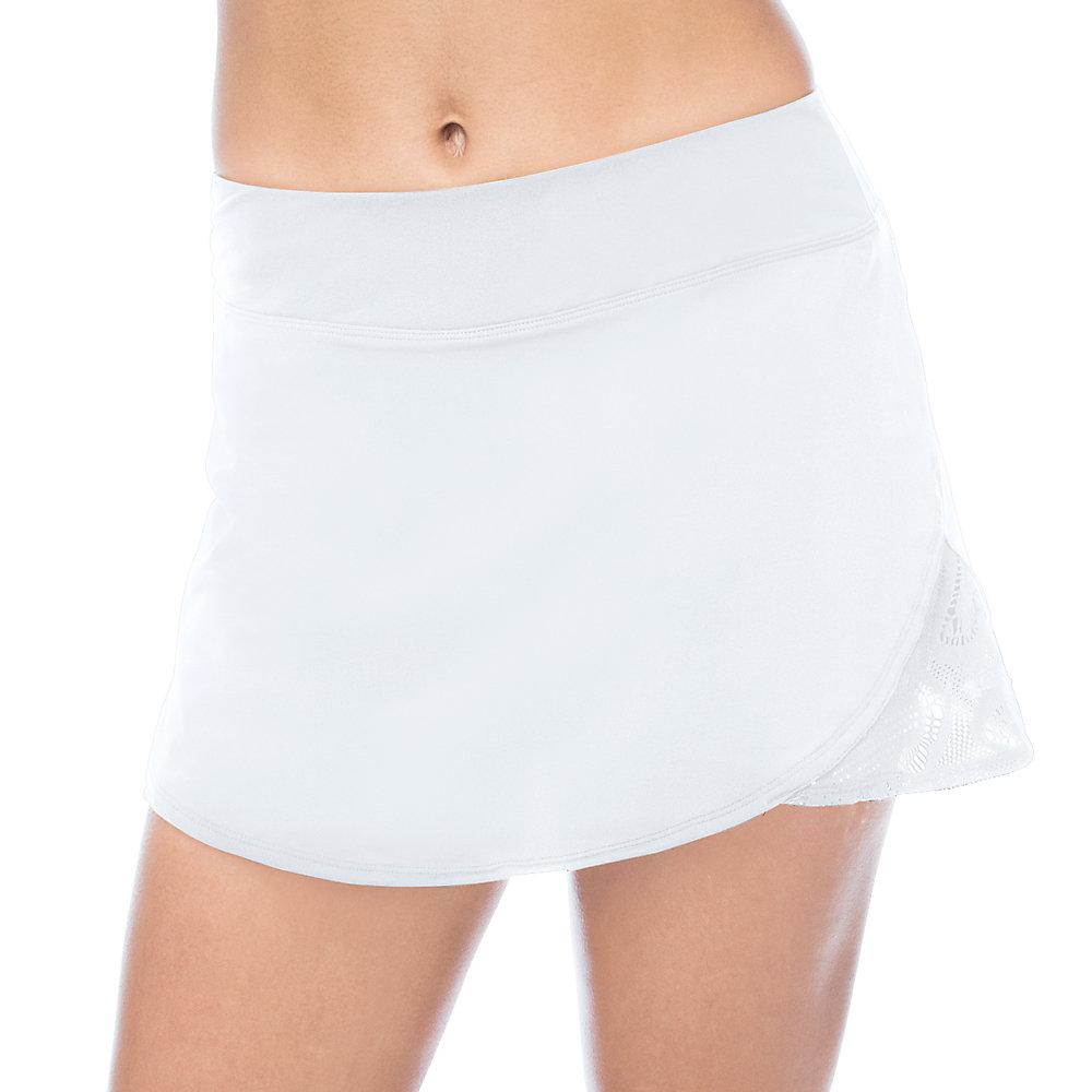 ace active skort in white