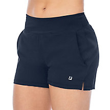 double layer short in navy