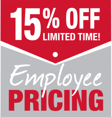 Employee Pricing Sale
