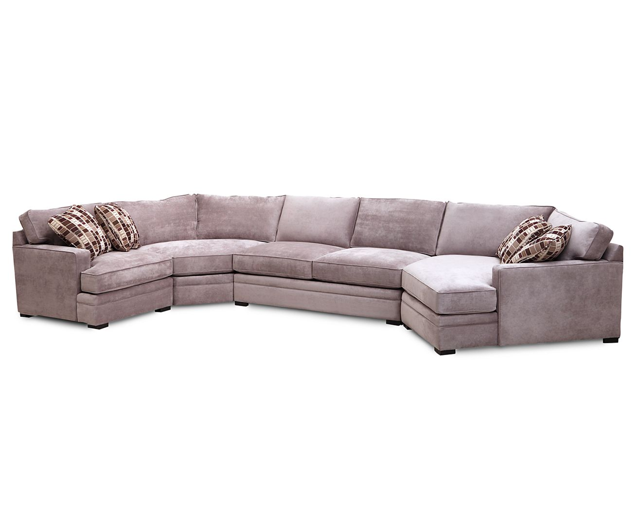 Sofa mart sectionals glenwood 4 pc sectional sofa mart 1 for Furniture row