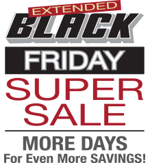 Black Friday Sale at Furniture Row
