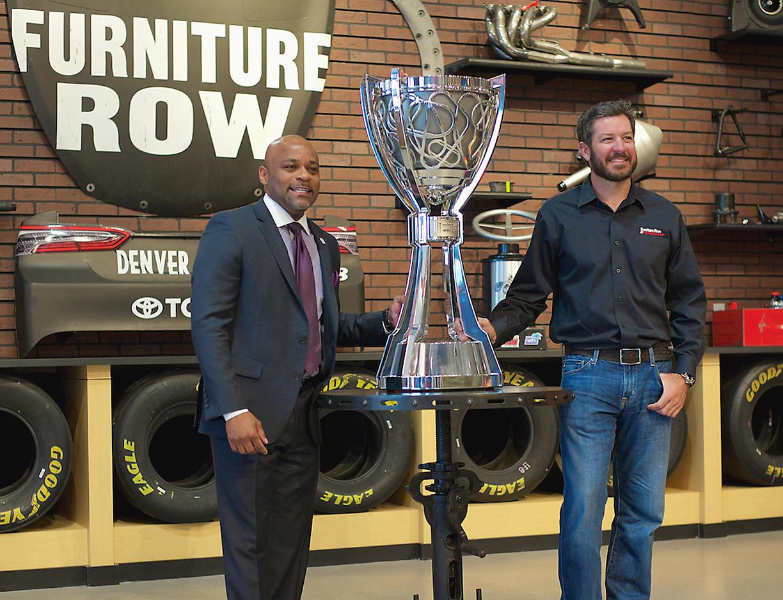 Martin Truex Jr NASCAR Win 2017