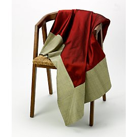 Raw Silk Throw - Fair Trade Bed Throws                    - Gaiam