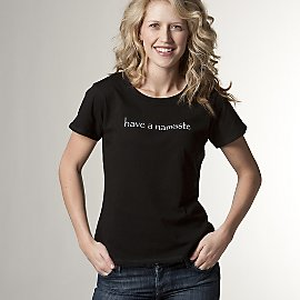 Gaiam: Have a Namaste Thoughtful Tee
