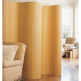 Our rollable screen is strong, elegant and flexible, just like the bamboo stalks used to create it. Made from eco-friendly, pesticide-free bamboo, it conforms to any space, then rolls neatly away when