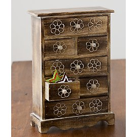 Gaiam :  india jewelry box gaiam juhi chest jewelry box eco-friendly