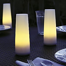 Gaiam :  gaiam glow candles eco-friendly solar lighting candle