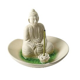 Gaiam :  gaiam lotus incense holder balinese incense burner eco-friendly