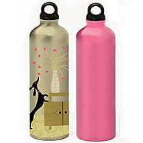 Gaiam Pooch & Magenta Aluminum Water Bottle 2-Pack $4.99