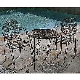 Bistro Table + Chairs - Patio Furniture - Outdoor - Eco Home & Outdoor - Gaiam