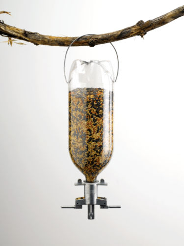 Homemade Birdfeeder Soda Bottle