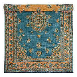 Gaiam :  floral gaiam floral pattern reversible all-weather rug rug recycled
