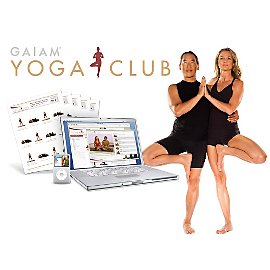 ClosetCat: Gaiam Weekly Yoga Club At Home