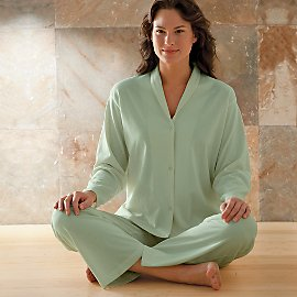 Women's Gaiam Organic Knit Pajamas $19.99 (60% Off)