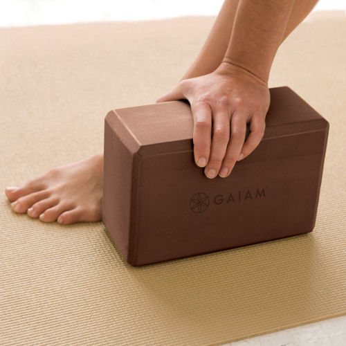 GAIAM's block is a yoga essential.