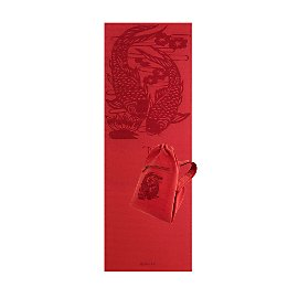Printed Yoga Mat and Embroidered Bag Set                    - Gaiam