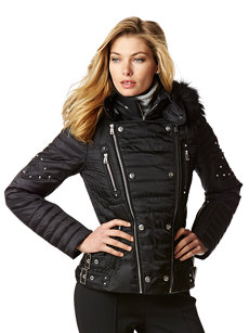 lucia-dp jacket with fur