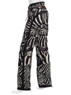 stella zebra black insulated ski pant