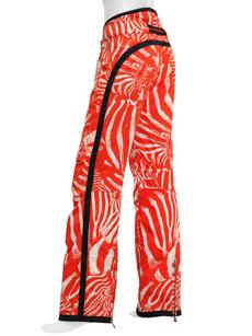 stella zebra lipstick insulated ski pant
