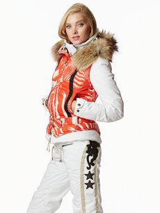 hero lipstick zebra vest