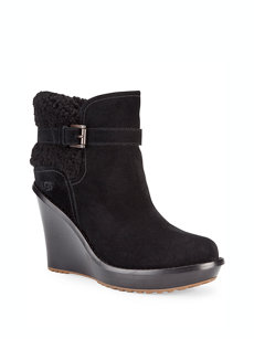 anais wedge black boot