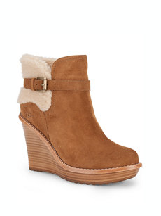 anais wedge chestnut boot