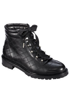 paris black hiker boot