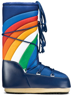 rainbow moonboot